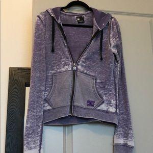 DC zip up hooded jacket
